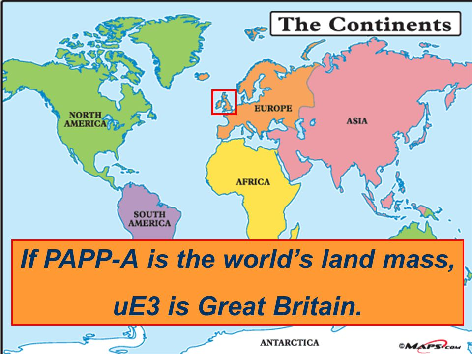 If PAPP-A is the world's land mass,