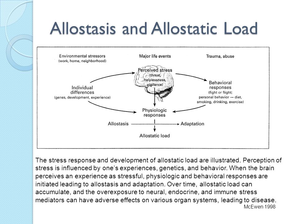 Allostasis and Allostatic Load