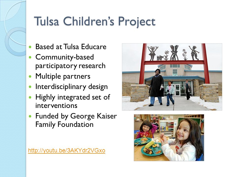 Tulsa Children's Project