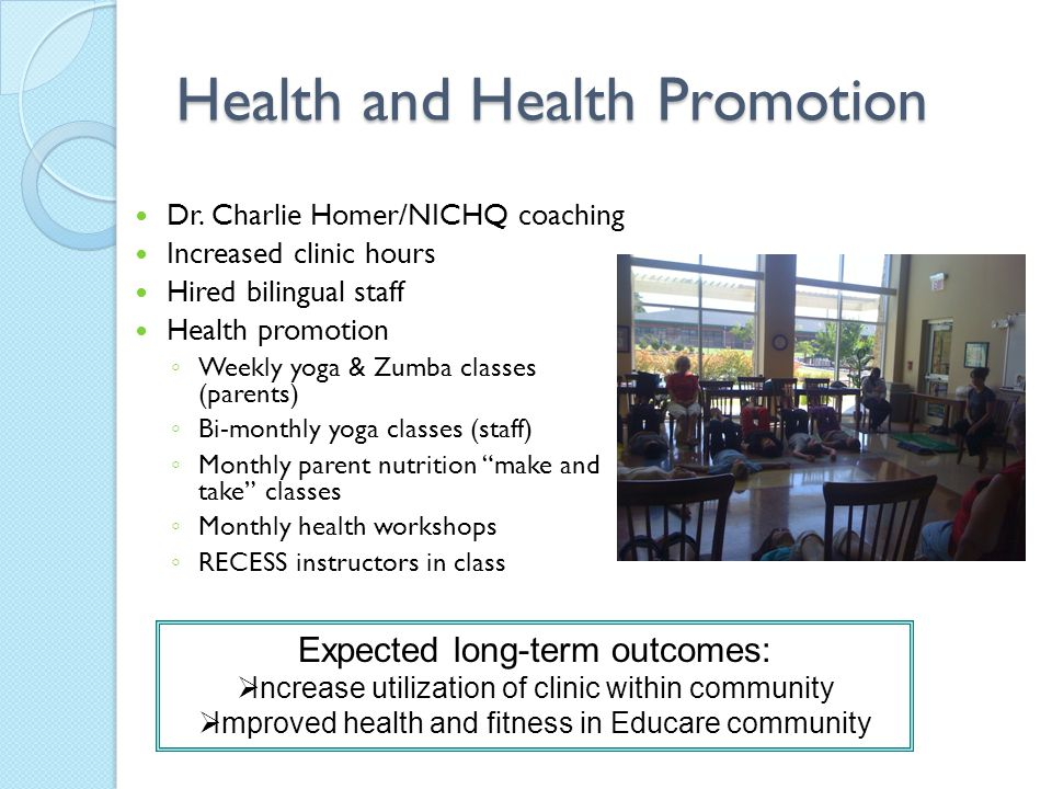 Health and Health Promotion