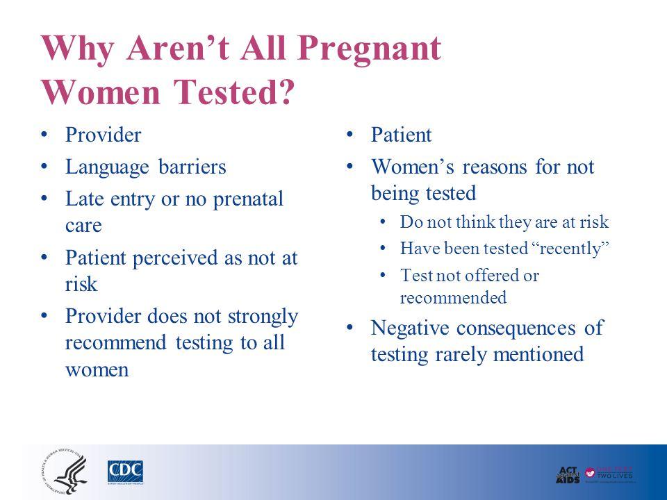 Routine Prenatal HIV Testing