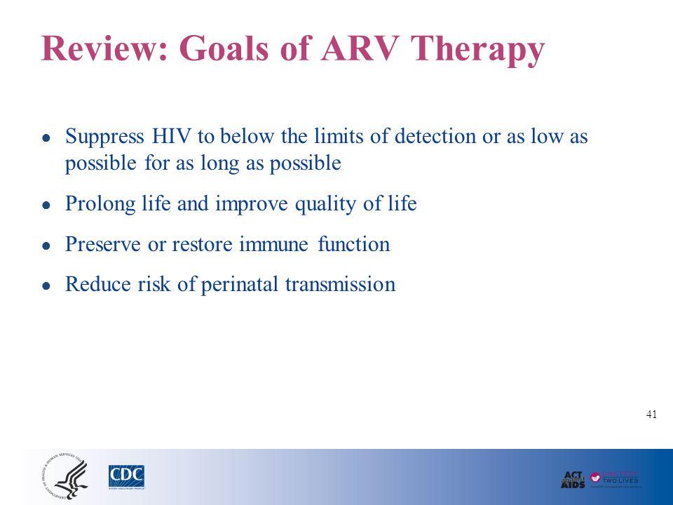 Perinatal ARV Guidelines