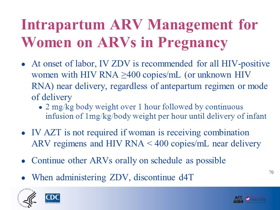 HIV Transmission and Cesarean Delivery