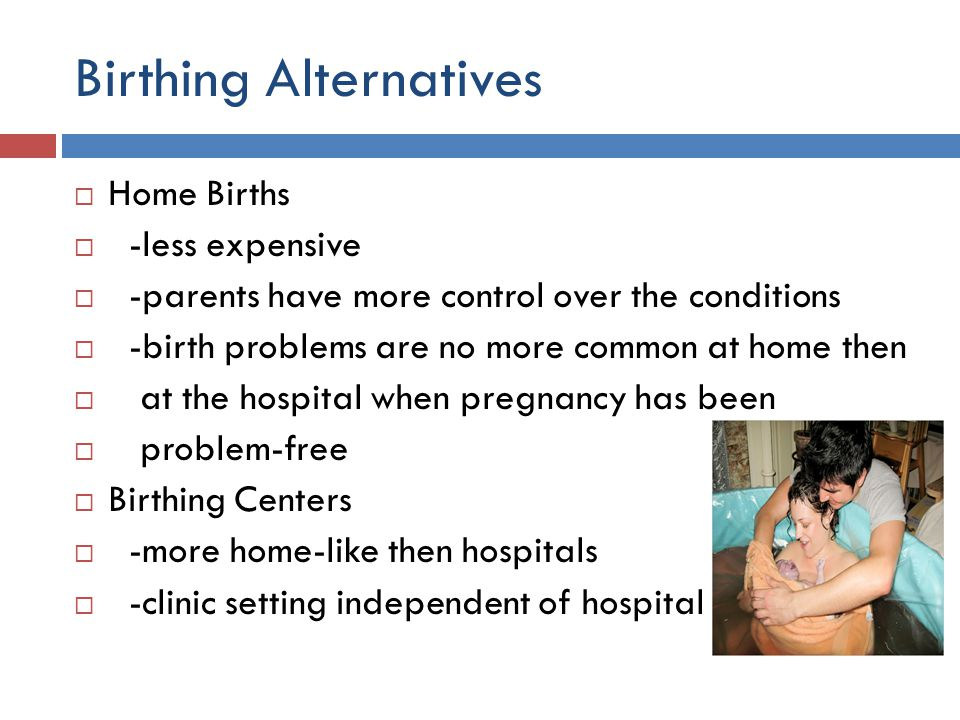 Birthing Alternatives