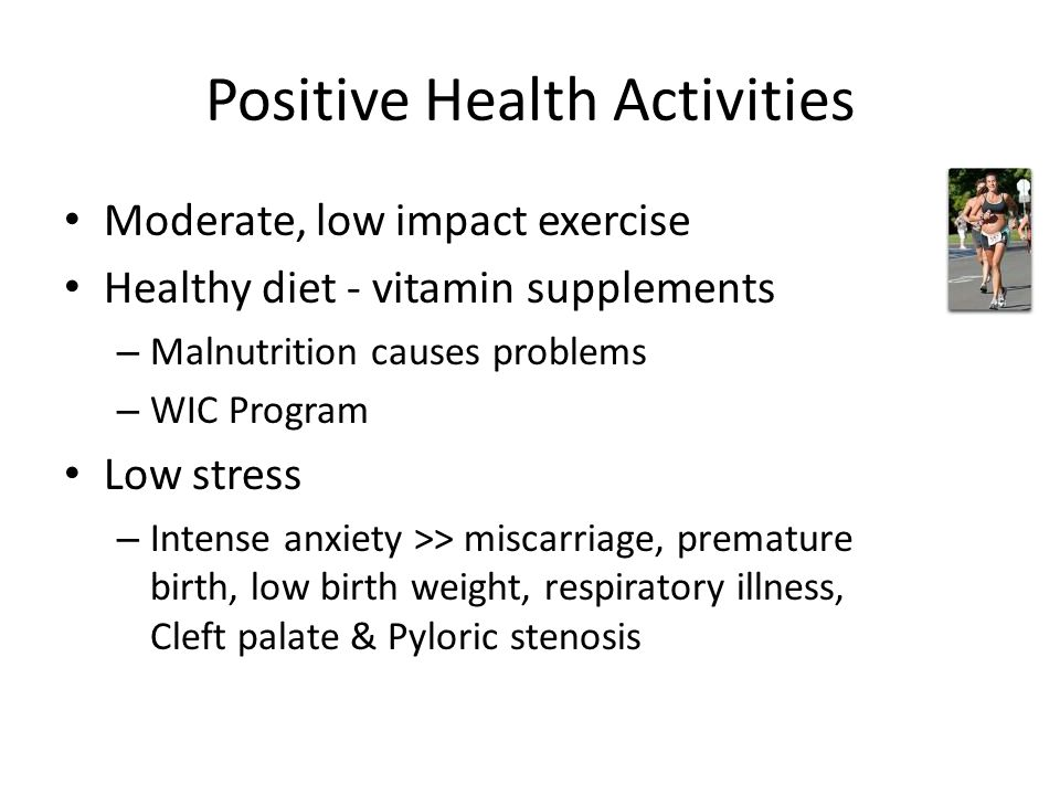 Positive Health Activities