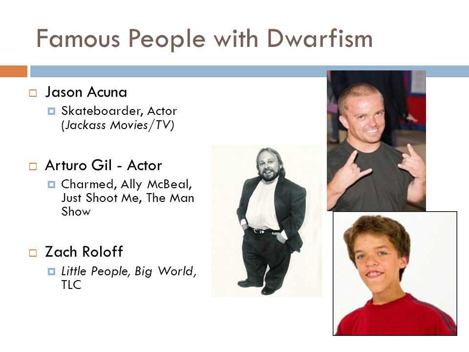 Famous People with Dwarfism