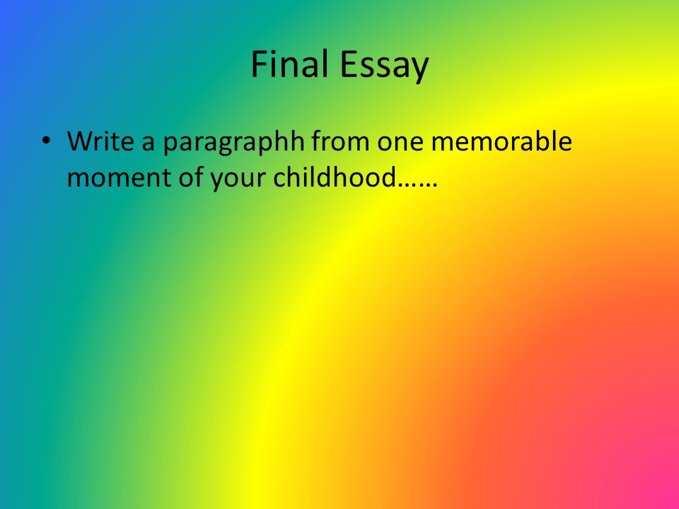 describe a memorable day in your life in an essay A memorable day in my life  it was the happiest day of my life which i shall remember for many years to come  it is different than other essays that .