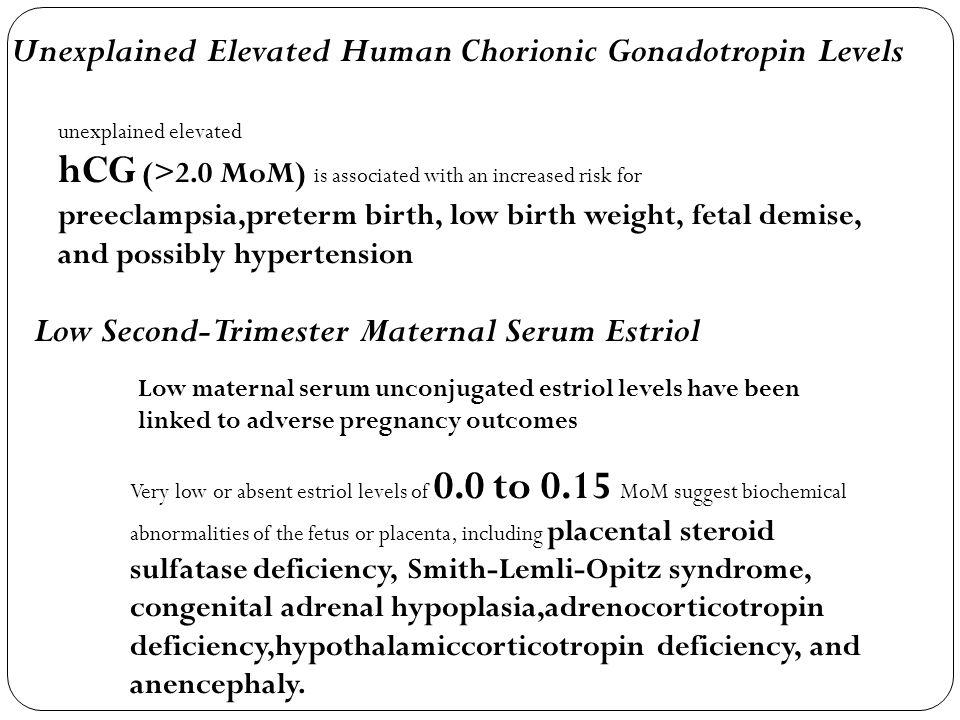 Unexplained Elevated Human Chorionic Gonadotropin Levels
