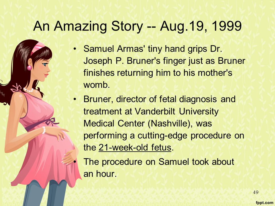 An Amazing Story -- Aug.19, 1999