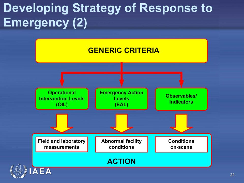 Developing Strategy of Response to Emergency (2)