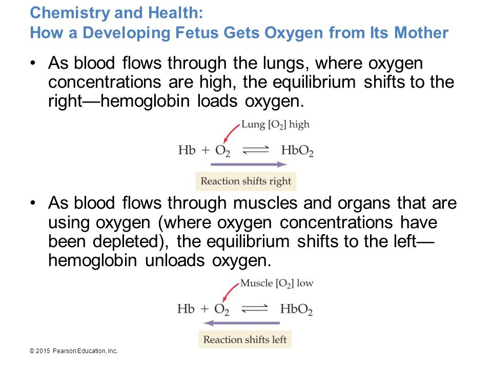 Chemistry and Health: How a Developing Fetus Gets Oxygen from Its Mother