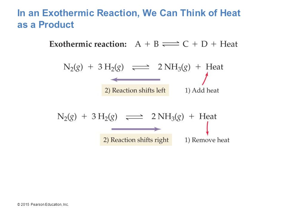 In an Exothermic Reaction, We Can Think of Heat as a Product