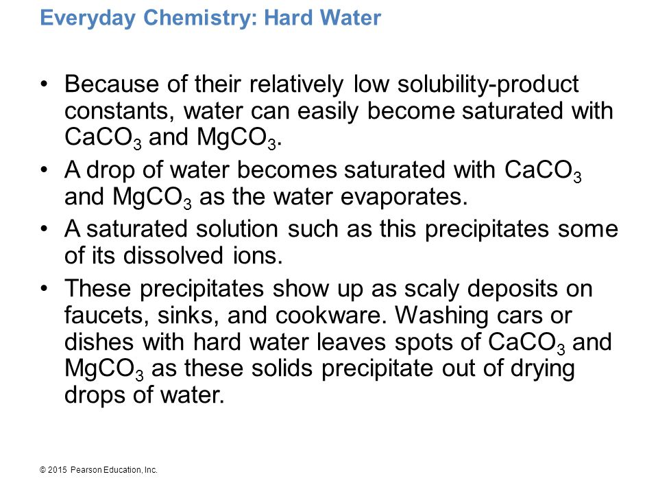 Everyday Chemistry: Hard Water