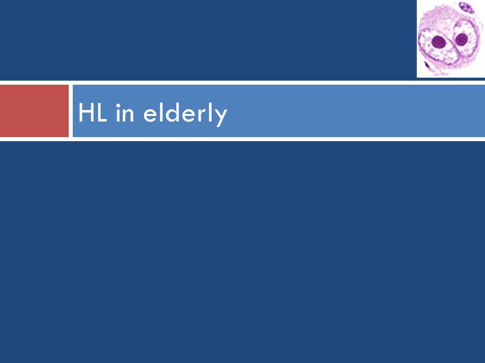 HL in elderly