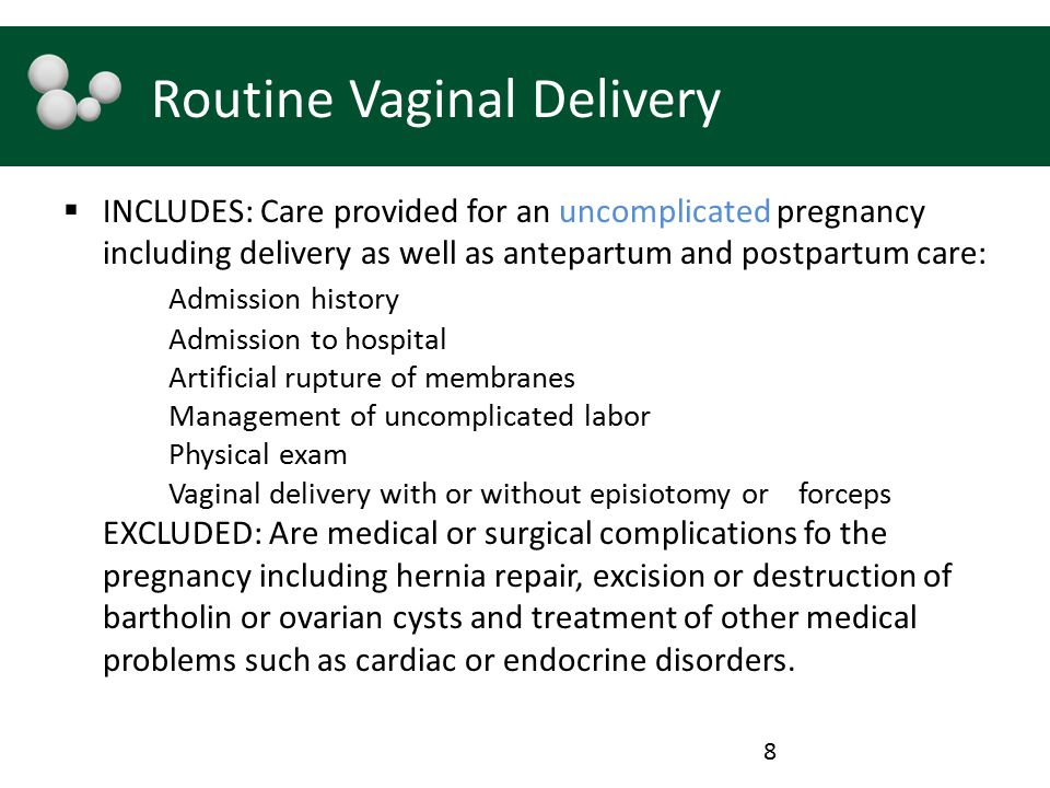 Routine Vaginal Delivery