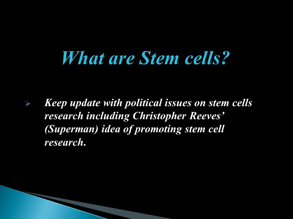 What are Stem cells
