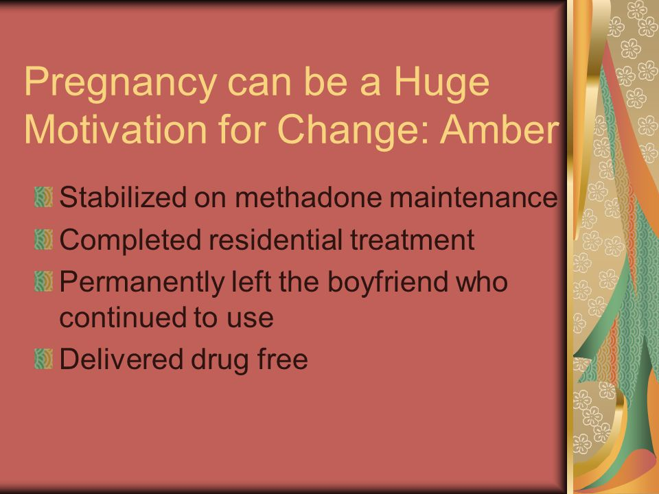 Pregnancy can be a Huge Motivation for Change: Amber