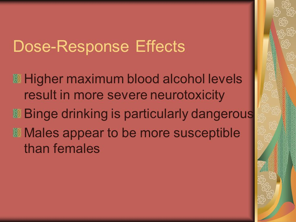 Dose-Response Effects