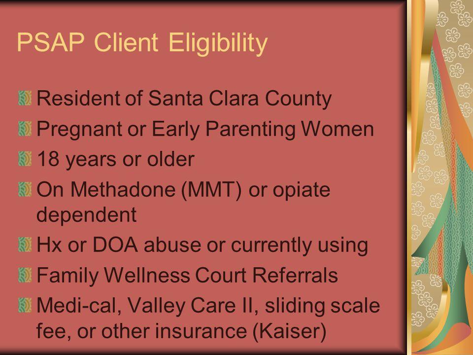PSAP Client Eligibility
