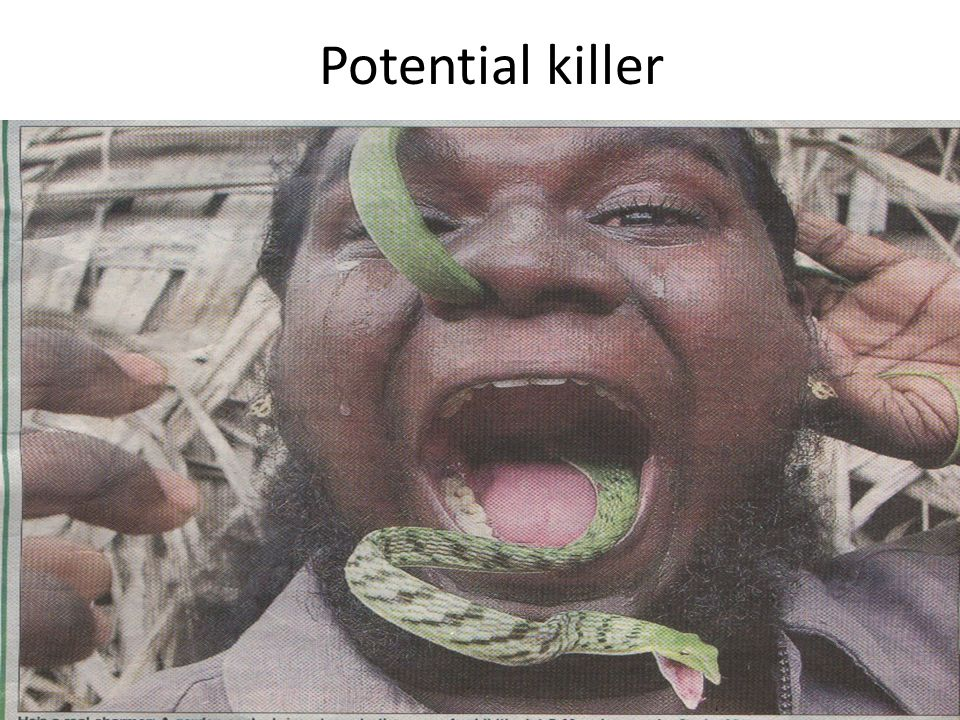Potential killer