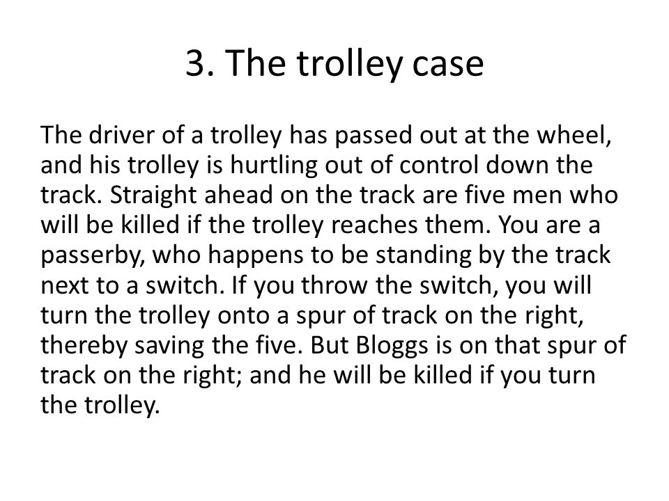 3. The trolley case