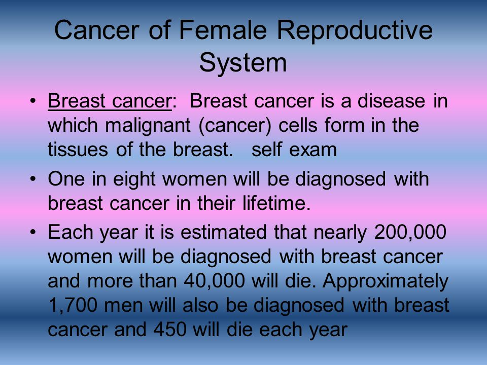 Cancer of Female Reproductive System