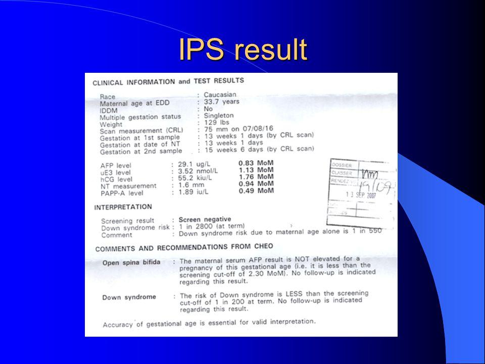 IPS result