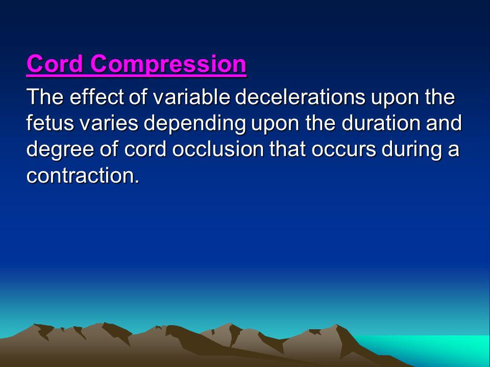 Cord Compression