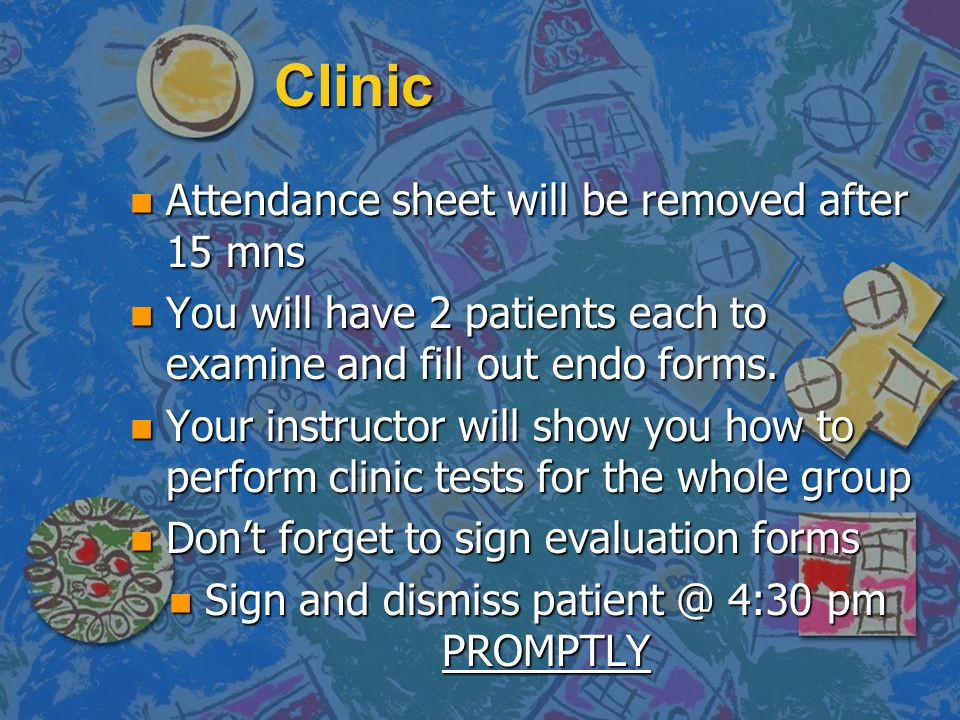 Sign and dismiss patient @ 4:30 pm PROMPTLY