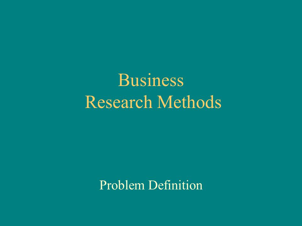 What Is Business Research?