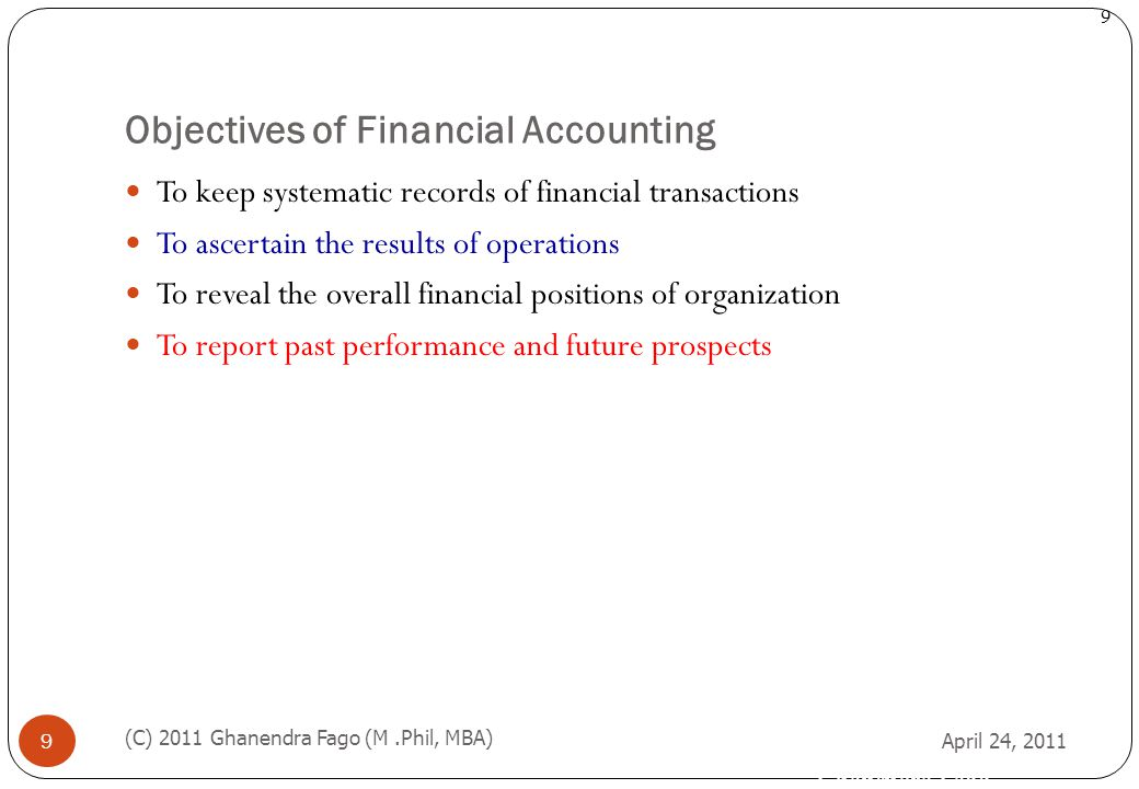Difference Between Accounting and Financial Accounting