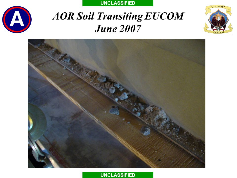 AOR Soil Transiting EUCOM June 2007
