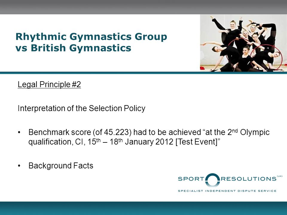 Rhythmic Gymnastics Group vs British Gymnastics