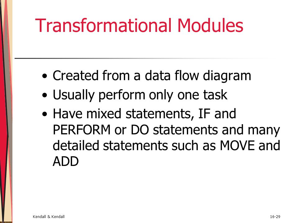 Transformational Modules