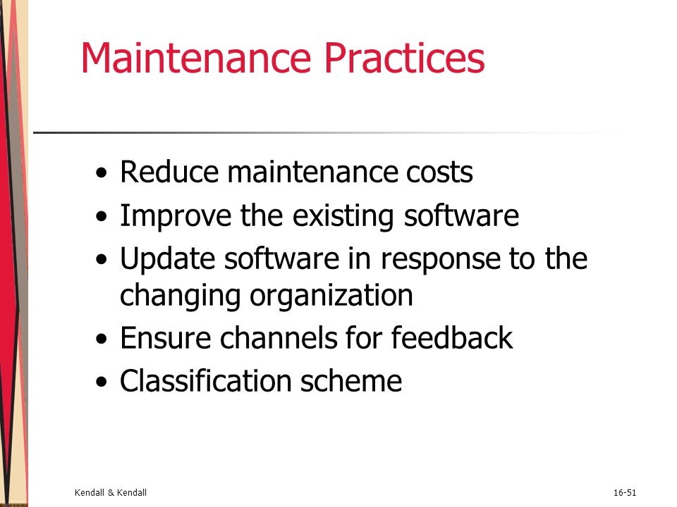 Maintenance Practices