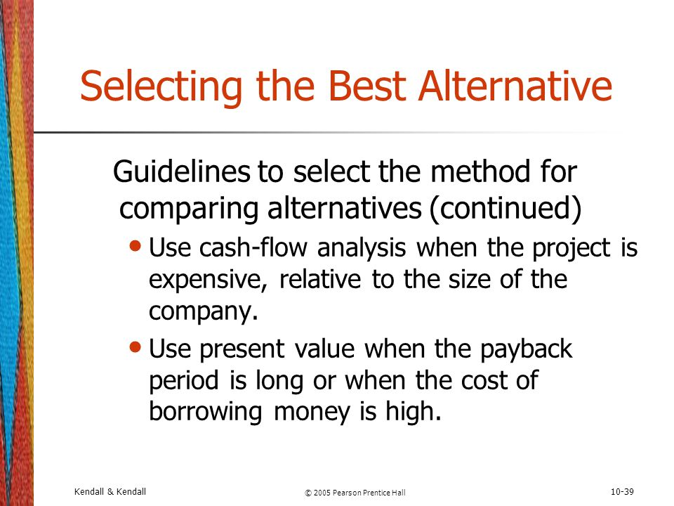 Selecting the Best Alternative