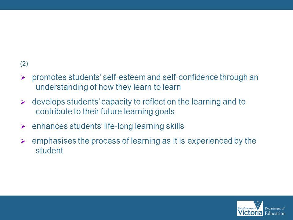 Assessment as learning: