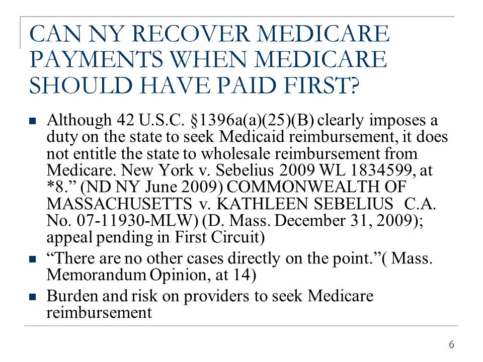 MEDICAID ENROLLEES MAY BE ENTITLED TO CLAIMS PAYMENT BY OTHER SOURCES (Third Parties)
