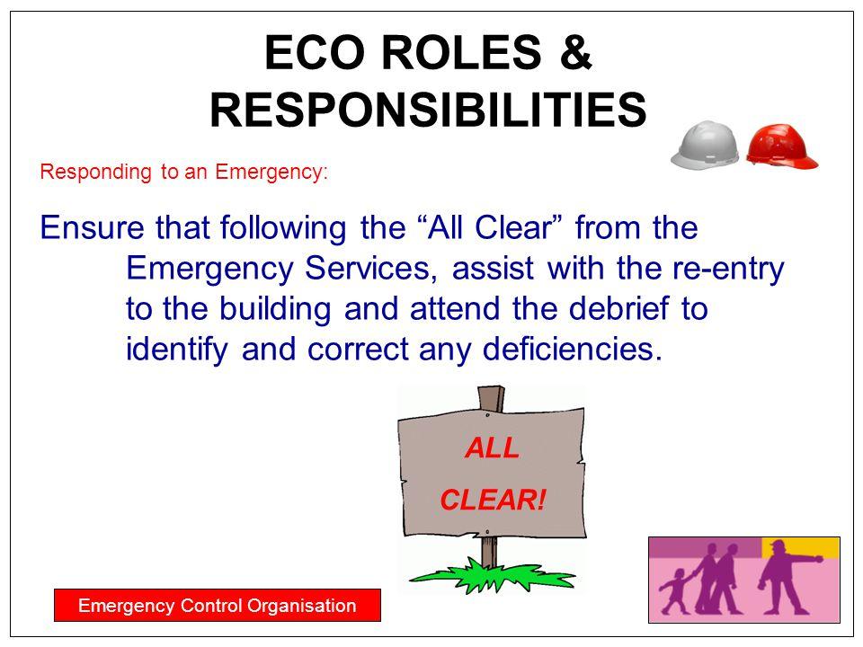 ECO ROLES & RESPONSIBILITIES