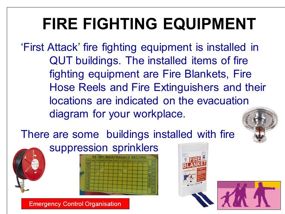 FIRE FIGHTING EQUIPMENT