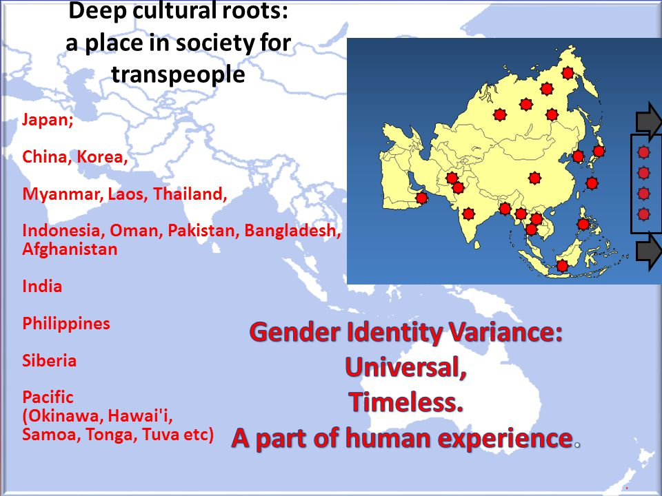Deep cultural roots: a place in society for transpeople