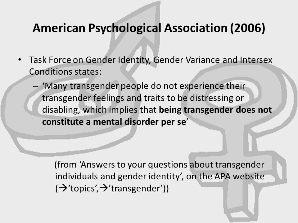 American Psychological Association (2006)