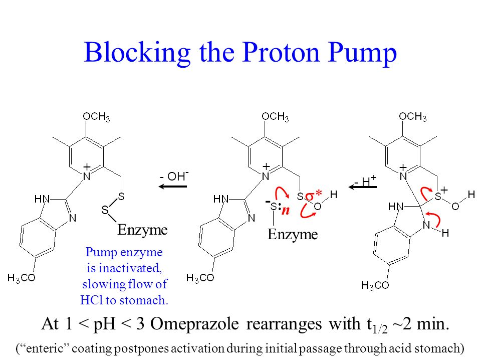 Blocking the Proton Pump
