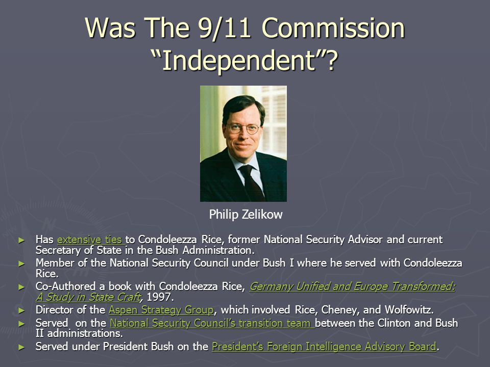 Was The 9/11 Commission Independent
