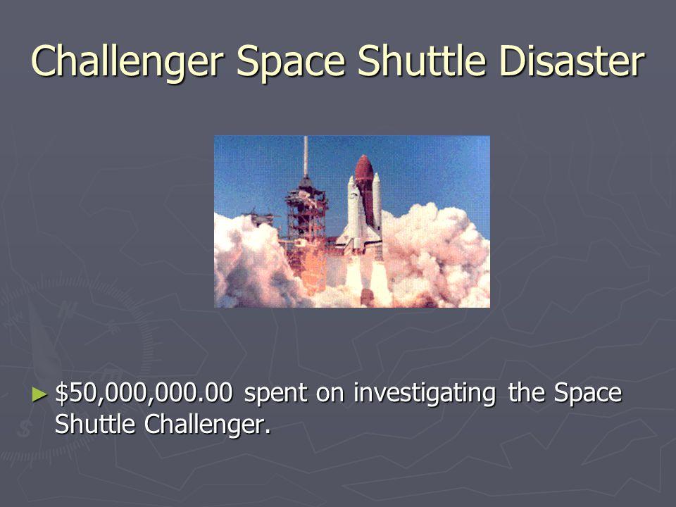 Challenger Space Shuttle Disaster