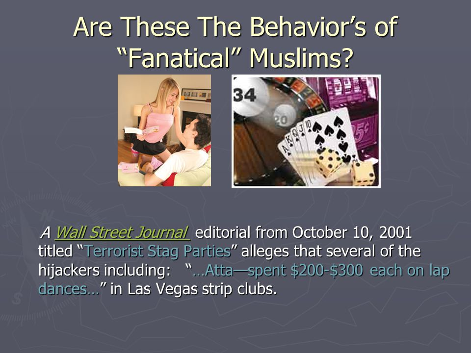 Are These The Behavior's of Fanatical Muslims