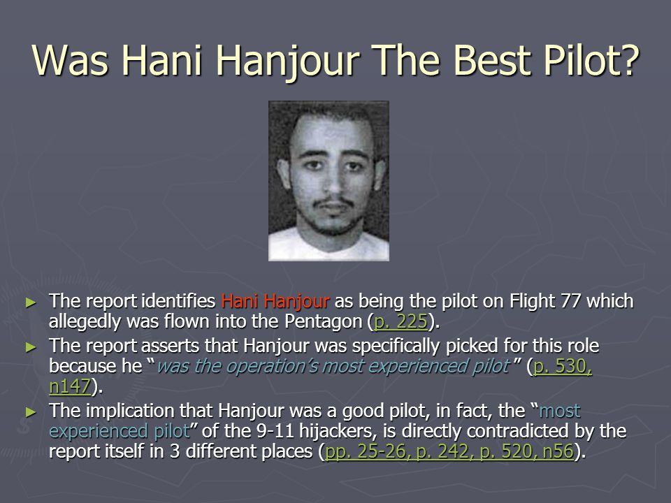Was Hani Hanjour The Best Pilot