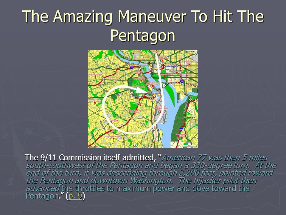 The Amazing Maneuver To Hit The Pentagon