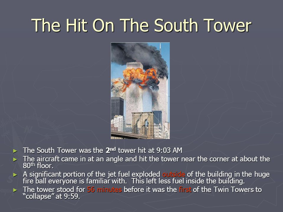 The Hit On The South Tower