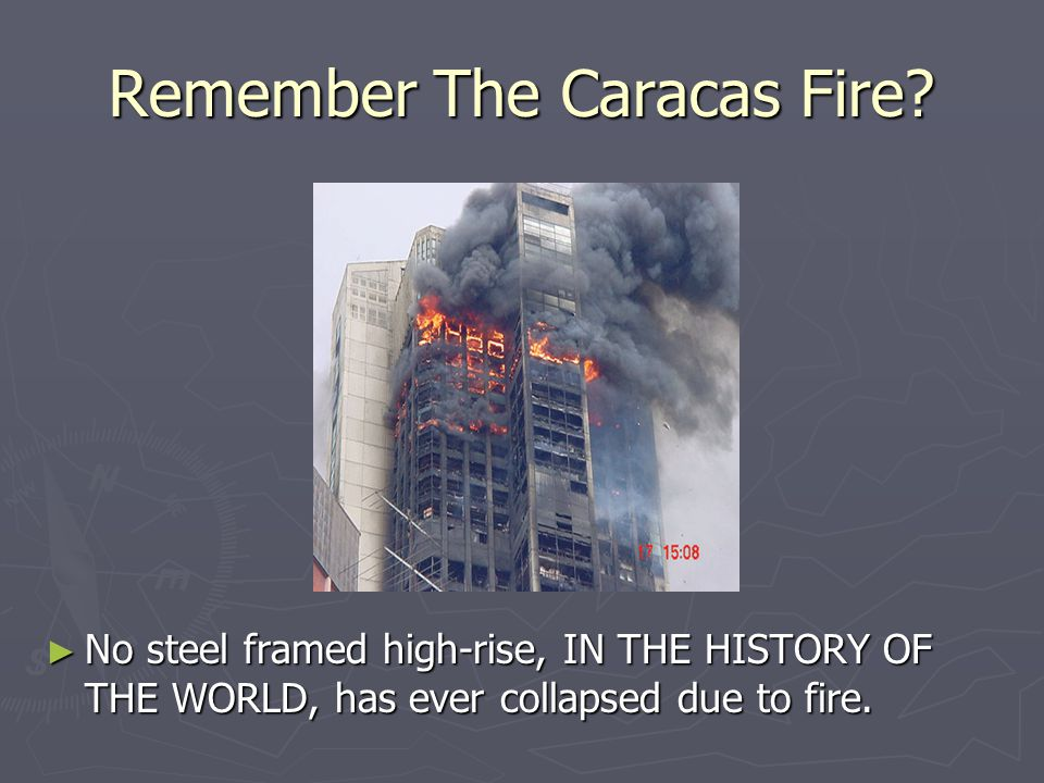 Remember The Caracas Fire
